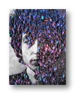 bob dylan from an on-line photo